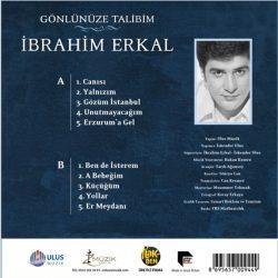 Satılık Plak İbrahim Erkal Gönlünüze Talibim Plak Arka Kapak