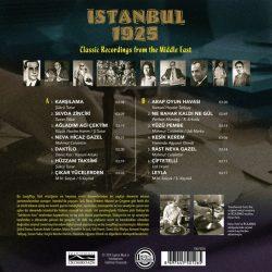 Satılık Plak İstanbul 1925 Plak Arka