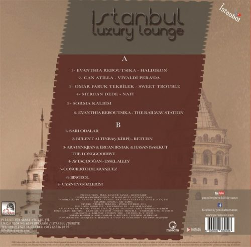 Satılık Plak İstanbul Luxury Lounge Plak Arka