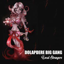 Satılık Plak Dolapdere Big Gang Local Strangers Plak Ön
