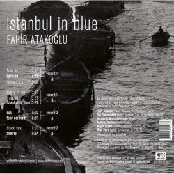 Satılık Plak Fahir Atakoğlu İstanbul in Blue Plak Arka