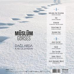 Satılık Plak Müslüm Gürses Dağlarda Kar Olsaydım Plak Arka