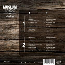 Satılık Plak Müslüm Gürses Klasikler Plak Arka