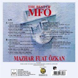 Satılık Plak Mazhar Fuat Özkan The Best Of MFÖ Plak Arka