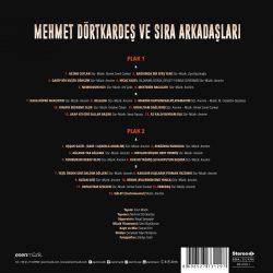 Satılık Plak Mehmet Dörtkardeş Ve Sıra Arkadaşları Plak Arka