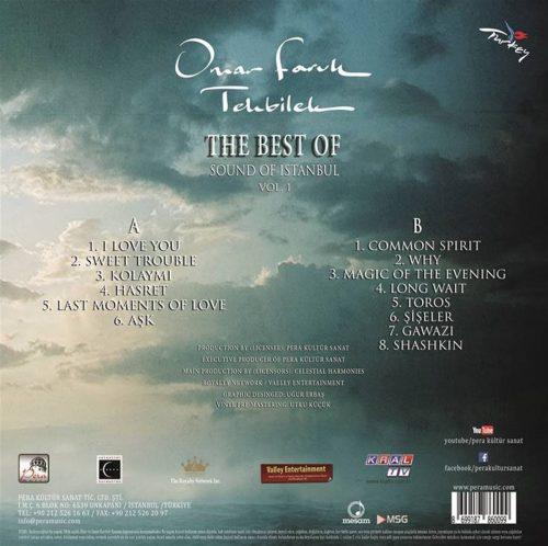 Satılık Plak Omar Faruk Tekbilek The Best Of Sound Of İstanbul Plak Arka