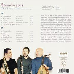 Satılık Plak The Secret Trio Soundscapes Plak Arka