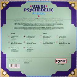 Satılık Plak Uzelli Psychedelic Anadolu Plak Arka