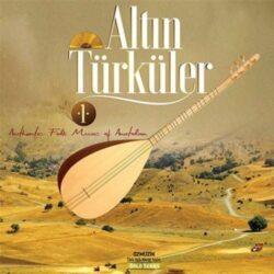 Satılık Plak Altın Türküler Plak Ön Kapak
