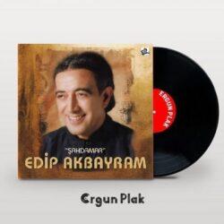 Satılık Plak Edip Akbayram Şahdamar Plak Kapak