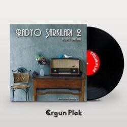 Satılık Plak Radyo Şarkıları 2 Plak Kapak