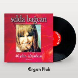 Satılık Plak Selda Bağcan 40 Yılın Şarkıları Plak Kapak