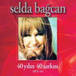 Satılık Plak Selda Bağcan 40 Yılın Şarkıları Plak Ön Kapak