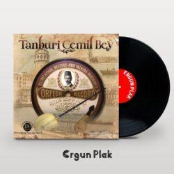 Satılık Plak Tanburi Cemil Bey Orfeon Record Plak Kapak