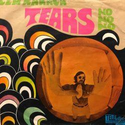 Satılık Plak Cem Karaca Apaşlar Tears 45'lik Plak Ön Kapak