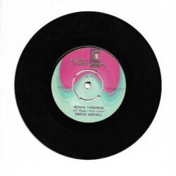 Satılık Plak Ömür Göksel - Senden Kalan Şarkı 45'lik Plak Arka