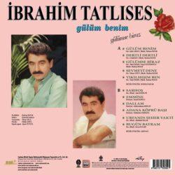 Satılık Plak İbrahim Tatlıses Gülüm Benim Gülümse Biraz Plak Arka