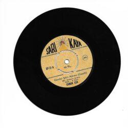 Satılık Plak Canan Işık - Geceler Şahit Aşkıma (Gazelli) 45'lik Plak Ön