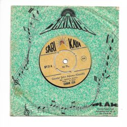 Satılık Plak Canan Işık - Geceler Şahit Aşkıma (Gazelli) 45'lik Plak Ön Kapak