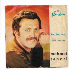Satılık Plak Mehmet Taneri - Seni Sevmek 45'lik Plak Ön Kapak