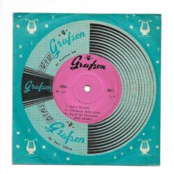 Satılık Plak Zeki Müren - Aşkın Kanunu Mini LP Plak Ön Kapak