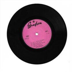 Satılık Plak Zeki Müren - Aşkın Kanunu Mini LP Plak Arka