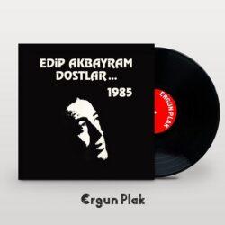 Satılık Plak Edip Akbayram Dostlar 1985 Plak Kapak