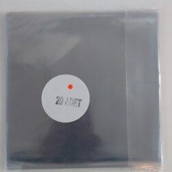 Satılık Plak Kaliteli PVC LP Plak Koruma Kabı 20'li