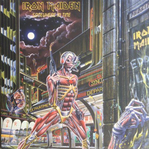 Satılık Plak İron Maiden - Somewhere In Time Plak Ön