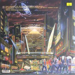 Satılık Plak Iron Maiden Somewhere In Time Plak Arka Kapak