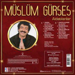 Satılık Plak Müslüm Gürses - Aldatılanlar Plak LP Arka
