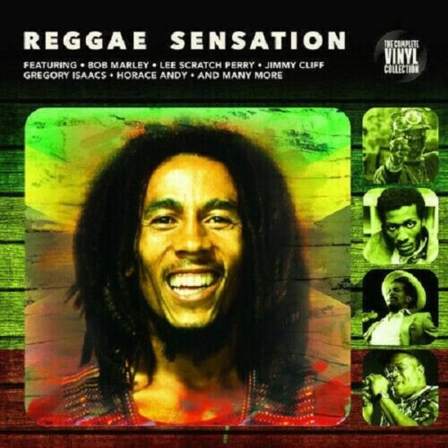 Satılık Plak Reggae Sensation Plak Ön Kapak