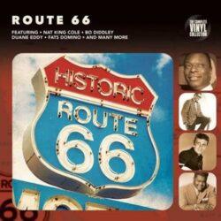 Satılık Plak Route 66 Plak Ön