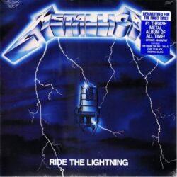 Satılık Plak Metallica Ride The Lightning Plak Ön Kapak