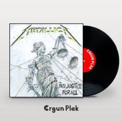 Satılık Plak Metallica And Justice For All Plak Kapak