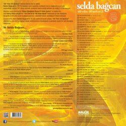 Satılık Plak Selda Bağcan - 40 Yılın Şarkıları Plak Arka Kapak