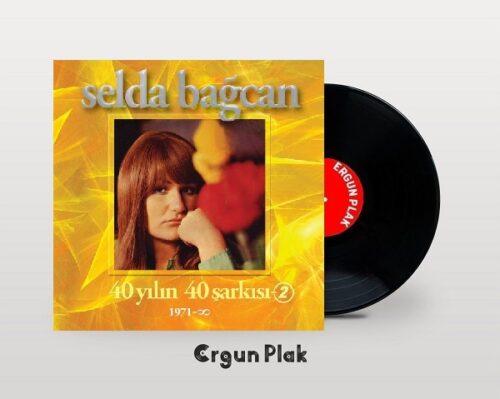 Satılık Plak Selda Bağcan 40 Yılın Şarkıları Vol 2 Plak Kapak