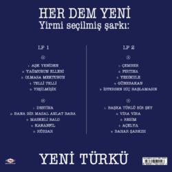 Satılık Plak Yeni Türkü Her Dem Plak Arka