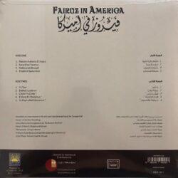 Satılık Plak Fairuz in America Plak Arka Kapak