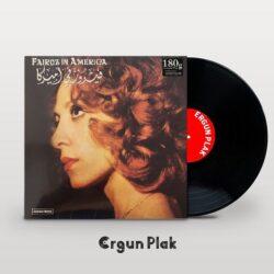 Satılık Plak Fairuz in America Plak Kapak