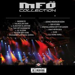 Satılık Plak Mazhar Fuat Özkan MFÖ Collection Arka