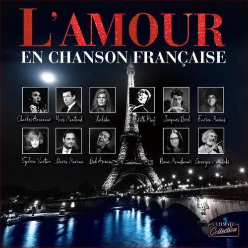 Lamour En Chanson Française Plak Ön Kapak