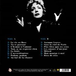 Satılık Plak Edith Piaf La Vie En Rose Plak Arka
