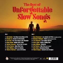 Satılık Plak The Best Of Unforgettable Slow Songs Plak Arka