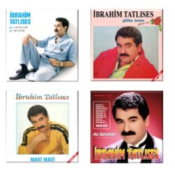 Satılık Plak İbrahim Tatlıses Plakları Set 4 LP Plak Set