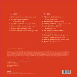 Satılık Plak Yeşilcam Şarkıları 1 Aşkın Kanunu Plak Arka Kapak