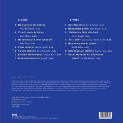 Satılık Plak Yeşilcam Şarkıları 3 Yıldızların Altında Plak Arka Kapak
