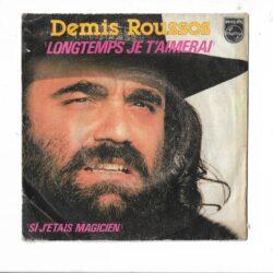 Satılık Plak Demis Roussos Longtemps Je Taimerai 45lik Plak Ön Kapak