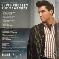 Satılık Plak Elvis Presley The Searcher Plak Arka Kapak
