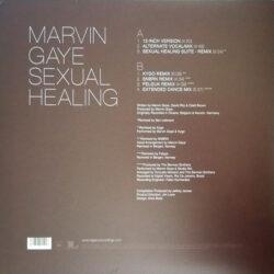 Satılık Plak Marvin Gaye Sexual Healing Plak Arka Kapak